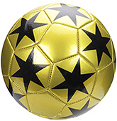 Fab N Funky Football Star Print - Golden