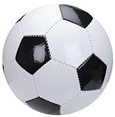 Fab N Funky Football Hexagonal Pattern - Black