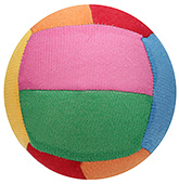 Fab N Funky Soft Toy Ball - Multicolor