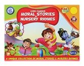 Fun and Learn CD/DVD/Movies - Kids Famous Moral Stories & Nursery Rhymes
