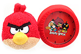 Angry Birds Plush Red Alarm Clock
