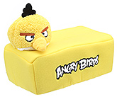 Buy Angry Bird Tissue Holder Yellow - 24 X 14 X 16 Cm