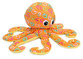 Play N Pets Orange Octopus Soft Toy - 45 Cm