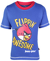 Angry Birds Flippin Awesome Print T Shirt