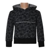 Hooded Sweat Shirt - Skull