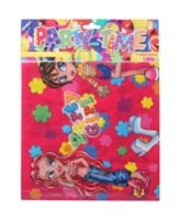 Archies Party Time Table Cover - Party Girl