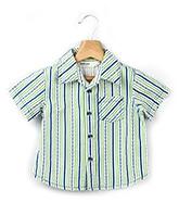 Buy Beebay Anchor Stripe Printed Half Sleeves Shirt