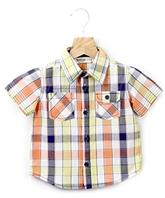 Buy Beebay Half Sleeves Check Print Shirt - Double Pockets