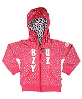 Buy Buzzy Full Sleeves Jacket - Attached Fancy Hood