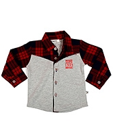 Buy Buzzy Full Sleeves Cotton Fleece Shirt
