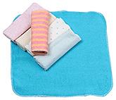 Buy Carters Multicolor Wash Cloths - Set Of 6 Pieces