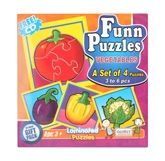 Funn Puzzles  - Vegetables
