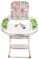 Buy Sunbaby High Chair with Music - Multicolor
