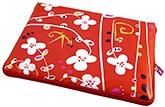 Buy Pylones Laptop Sleeve Small White Flower - 34 x 25 cm