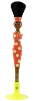 Buy Pylones Orange Japanese Doll Design Blusher Brush - 2 x 19.5 cm