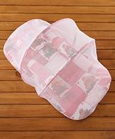 Buy Teddy Print Baby Jumbo Bedding Set With Mosquito Net - Red