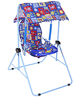 Buy New Natraj Cozy Room Swing Blue Come Back Print - Upto 10 Kg