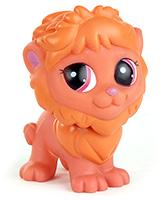 Buy Fab N Funky Cute Pet Lion Orange - 11.5 cm
