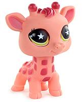 Buy Fab N Funky Cute Pet Giraffe Pink - 11.5 cm