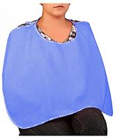 Buy Peaches & Munchkins Baby Feeding Cloak - Blue