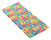 Buy Fab N Funky Multicolour Number Puzzle - 60 Pieces