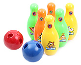 Fab N Funky Multicolored Bowling Set - 8 Pieces