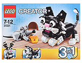 Lego 3 In 1 Creators Furry Creatures