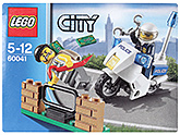 Lego City Crook Pursuit Construction Set