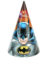 Batman Birthday Cap - 8 Pieces