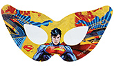 Superman Paper Eye Mask - Pack Of 10