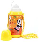 Buy PEP INDIA Panda Yellow Sipper Bottle - 500 ml