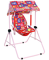 Buy  New Natraj Cozy Room Swing Red Flower Print - Upto 10 Kg