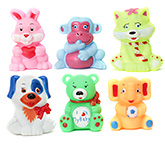 Buy Toyzone Animal Vinyl Squeezy 3 Inch Toy 6 Pieces