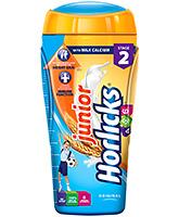 Buy Horlicks Junior Original Flavour With Milk Calcium Stage 2 - 500 Gm Jar