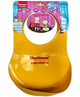 Buy Morisons Baby Dreams Crumb Catcher Bib - Yellow