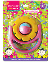 Buy Morisons Baby Dreams Premium Rattle - Flower