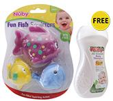 Buy Nuby Fun Fish Squirters