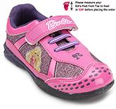 Buy Barbie Pink Velcro Strap Sports Shoes - Barbie Print