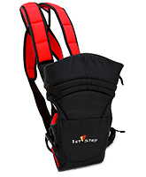 Buy 1st Step Baby Carrier 2 in 1 - Black and Red