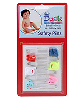 Duck Safety Pins - Pack of 6