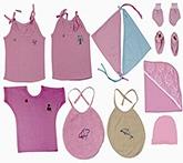 JO Kidswear Pink Baby Gift Set