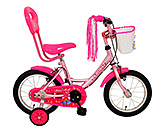 Buy Kross Pink Blue Bell 14T Bicycle - 14 Inch