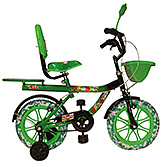 Buy Khaitan Chopper Bicycle Green - 14 Inch