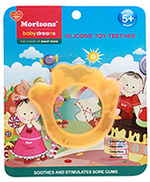 Buy Morisons Baby Dreams Silicone Toy Teether - Orange