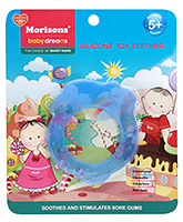 Buy Morisons Baby Dreams Silicone Toy Teether Blue
