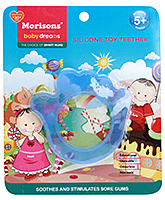 Buy Morisons Baby Dreams Silicone Toy Teether - Blue