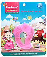 Buy Morisons Baby Dreams Silicone Toy Teether - Pink