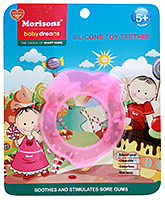 Buy Morisons Baby Dreams Silicone Teether - Pink