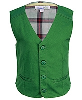 Buy ShopperTree Green Sleeveless Waistcoat