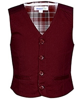 Buy ShopperTree Maroon Sleeveless Waistcoat